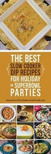 The Best Slow Cooker Dip Recipes f - 300 Tailgating Recipes - RecipePin.com