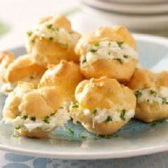 Party Crab Puffs Recipe from Taste - 300 Tailgating Recipes - RecipePin.com