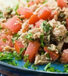 Summertime Tuna Salad - 400 Tasty Tuna Recipes - RecipePin.com