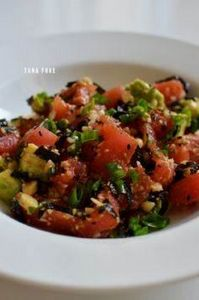tuna poke. - Super simple to make, - 400 Tasty Tuna Recipes - RecipePin.com