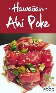 Hawaiian Ahi Poke - recipe on www. - 400 Tasty Tuna Recipes - RecipePin.com