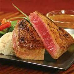 Grilled Tuna Steak - 400 Tasty Tuna Recipes - RecipePin.com
