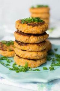 These Sweet Potato Tuna Patties ar - 400 Tasty Tuna Recipes - RecipePin.com