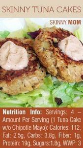 Tuna Cakes with chili mayo, from B - 400 Tasty Tuna Recipes - RecipePin.com