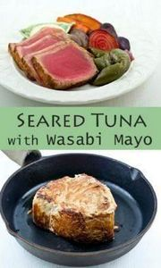 Make this elegant Seared Tuna with - 400 Tasty Tuna Recipes - RecipePin.com