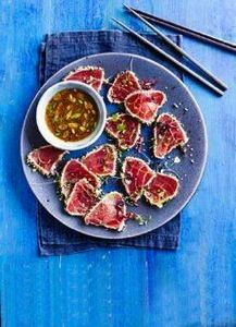 seared tuna tataki. This simple As - 400 Tasty Tuna Recipes - RecipePin.com