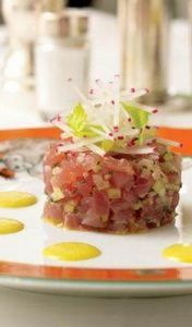 Le Cirque Tuna Tartar Recipe from
