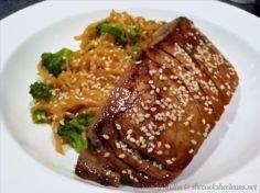 Seared Tuna Steaks with Spicy No-C