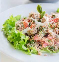 Israeli Spicy Tuna Salad Supreme. - 400 Tasty Tuna Recipes - RecipePin.com