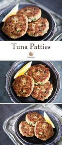 Tuna Patties ~ Quick, easy, and bu - 400 Tasty Tuna Recipes - RecipePin.com