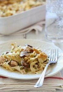 Skinny Tuna Noodle Casserole | Ski - 400 Tasty Tuna Recipes - RecipePin.com