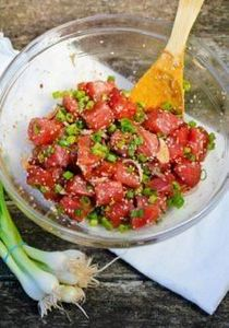 hawaiian-poke bowls- I add coconut - 400 Tasty Tuna Recipes - RecipePin.com