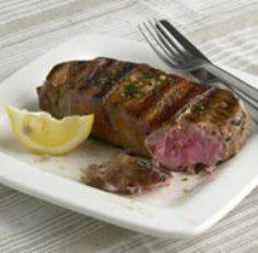 Baconized Tuna with Lemon Butter - 400 Tasty Tuna Recipes - RecipePin.com