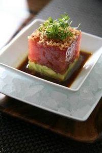BLT Steak's Tuna Tatare - 400 Tasty Tuna Recipes - RecipePin.com