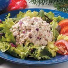 Herbed Tuna Salad is yummy alterna - 400 Tasty Tuna Recipes - RecipePin.com