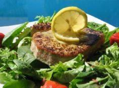 Grilled Tuna Steaks With Lemon-Pep - 400 Tasty Tuna Recipes - RecipePin.com