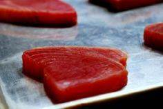 Raw Tuna steaks, ready to add spic - 400 Tasty Tuna Recipes - RecipePin.com