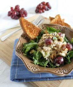 Healthy tuna waldorf salad - 400 Tasty Tuna Recipes - RecipePin.com