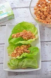 This Spicy Tuna Lettuce Wraps reci - 400 Tasty Tuna Recipes - RecipePin.com