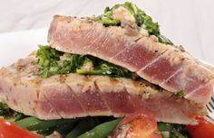 Grilled Mediterranean Yellow Fin T - 400 Tasty Tuna Recipes - RecipePin.com