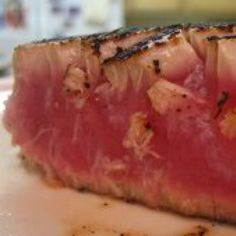 I'm OBSESSED with this seared ahi  - 400 Tasty Tuna Recipes - RecipePin.com