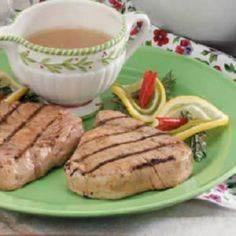 Citrus Ginger Tuna Steaks - 400 Tasty Tuna Recipes - RecipePin.com