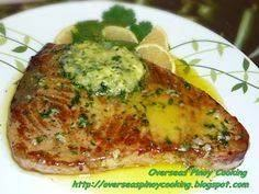 Tuna Steak with Butter Garlic and  - 400 Tasty Tuna Recipes - RecipePin.com