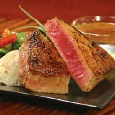 Marinated Tuna Steak w/ orange jui - 400 Tasty Tuna Recipes - RecipePin.com
