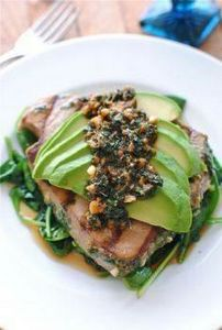 Grilled Citrus Tuna Steak with Avo - 400 Tasty Tuna Recipes - RecipePin.com