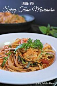 This linguine with Spicy Tuna Mari - 400 Tasty Tuna Recipes - RecipePin.com