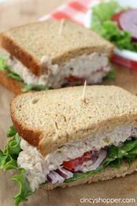 CopyCat Panera Bread Tuna Salad Sa - 400 Tasty Tuna Recipes - RecipePin.com