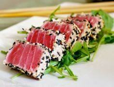 Seared Tuna with Avocado - 400 Tasty Tuna Recipes - RecipePin.com