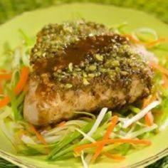 Wasabi Encrusted Tuna Steaks - All - 400 Tasty Tuna Recipes - RecipePin.com