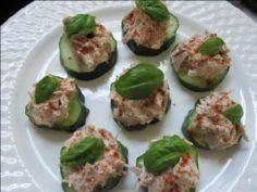 Cucumber Tuna Bites ...throw in a  - 400 Tasty Tuna Recipes - RecipePin.com