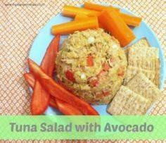 tuna salad with avocado 1 Tuna Sal - 400 Tasty Tuna Recipes - RecipePin.com
