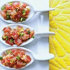 Tuna Tartare with Ginger and Toast - 400 Tasty Tuna Recipes - RecipePin.com