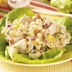 Garden Tuna Macaroni  Salad - 400 Tasty Tuna Recipes - RecipePin.com