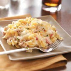Comforting Tuna Casserole Recipe f - 400 Tasty Tuna Recipes - RecipePin.com