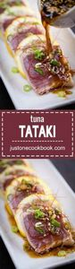 Tuna Tataki - 400 Tasty Tuna Recipes - RecipePin.com