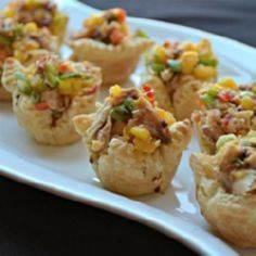 Sweet and Spicy Tuna Cups - Allrec - 400 Tasty Tuna Recipes - RecipePin.com