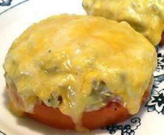 Tuna Melts on tomatoes- No carbs.  - 400 Tasty Tuna Recipes - RecipePin.com