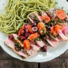Southern Italian Grilled Tuna Stea - 400 Tasty Tuna Recipes - RecipePin.com