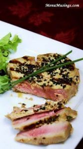 Seared Marinated Tuna Steaks - Ten - 400 Tasty Tuna Recipes - RecipePin.com
