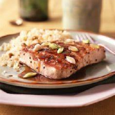 Balsamic-Glazed Tuna Recipe - 400 Tasty Tuna Recipes - RecipePin.com