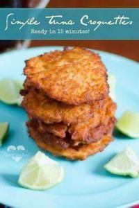A great way to use tuna fish! Go b - 400 Tasty Tuna Recipes - RecipePin.com