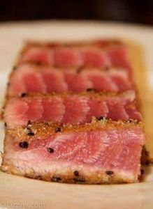 Seared tuna #recipe - amazing - 400 Tasty Tuna Recipes - RecipePin.com