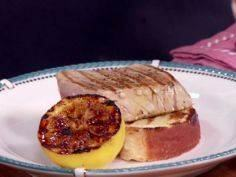 Tuna Steaks with Lemon Pepper Butt - 400 Tasty Tuna Recipes - RecipePin.com