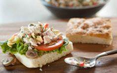 Mediterranean tuna salad (whole fo - 400 Tasty Tuna Recipes - RecipePin.com