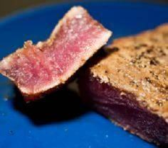 Grilled tuna steak.Use barbecue or - 400 Tasty Tuna Recipes - RecipePin.com