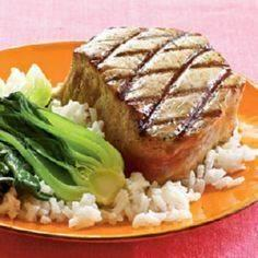 Double-Sesame Grilled Tuna | Cooki - 400 Tasty Tuna Recipes - RecipePin.com